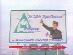 Yoyodyne Sign